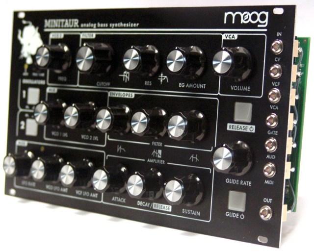 Moog Minitaur Eurorack Module Mod