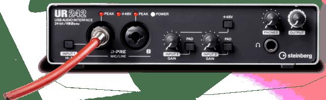 ur242-audio-interface