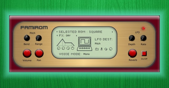 Famirom Puts The Sound Of A NES Sound Chip In Your DAW