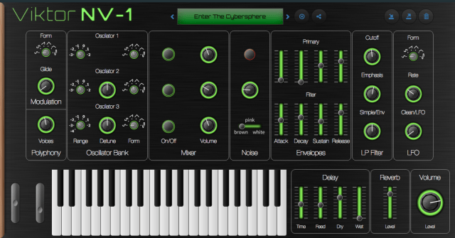 browser-based-music-synthesizer