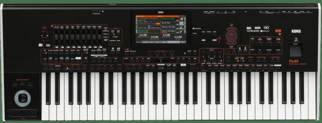korg announces pa4x professional arranger keyboard synthtopia. Black Bedroom Furniture Sets. Home Design Ideas