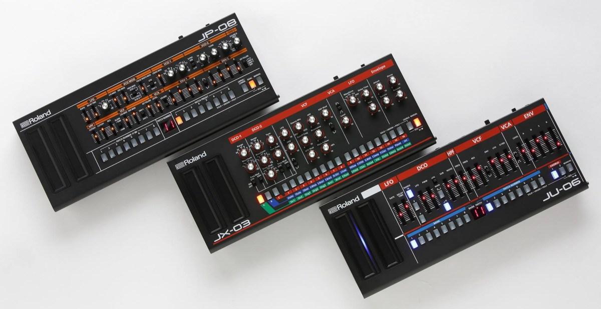 roland boutique synthesizer demo videos jp 08 ju 06 jx 03 synthtopia. Black Bedroom Furniture Sets. Home Design Ideas