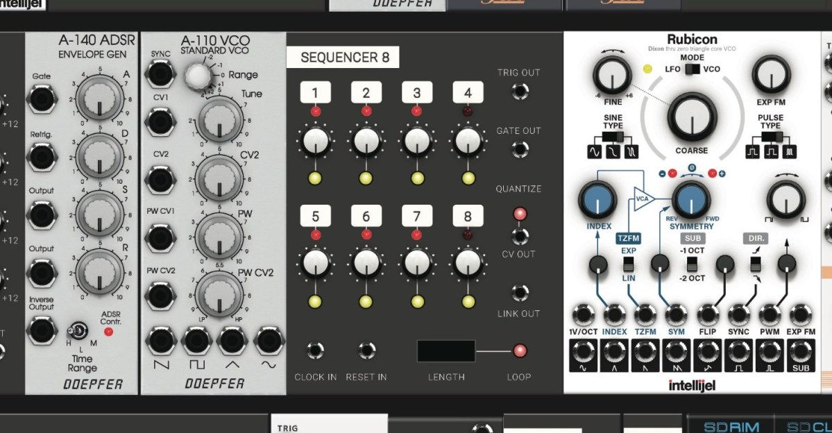 softube modular wants to be your virtual eurorack synthesizer synthtopia. Black Bedroom Furniture Sets. Home Design Ideas