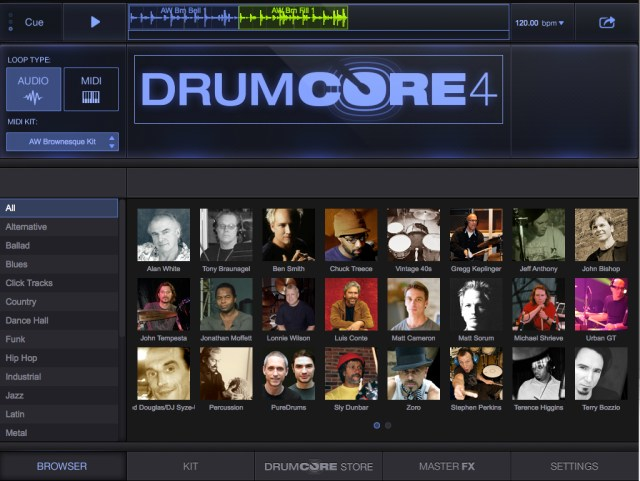DrumCore-4-Plug-In-Screenshot