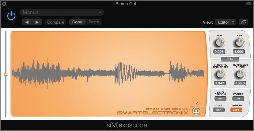 Free Oscilloscope Plugin For Mac & Windows, s(M)exoscope – Synthtopia