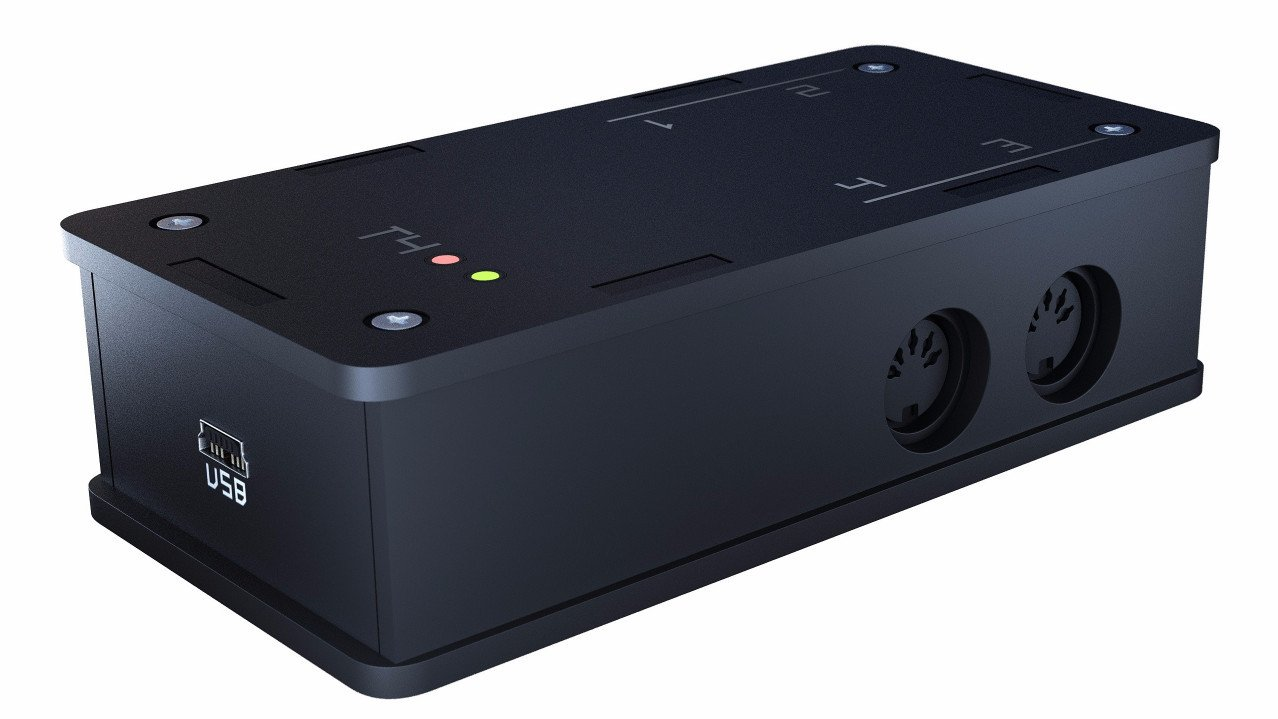 Gibbon Digital Intros T4 MIDI Interface – Synthtopia