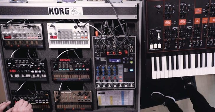 How To Create A Live Set Using Korg Volcas | Synthtopia