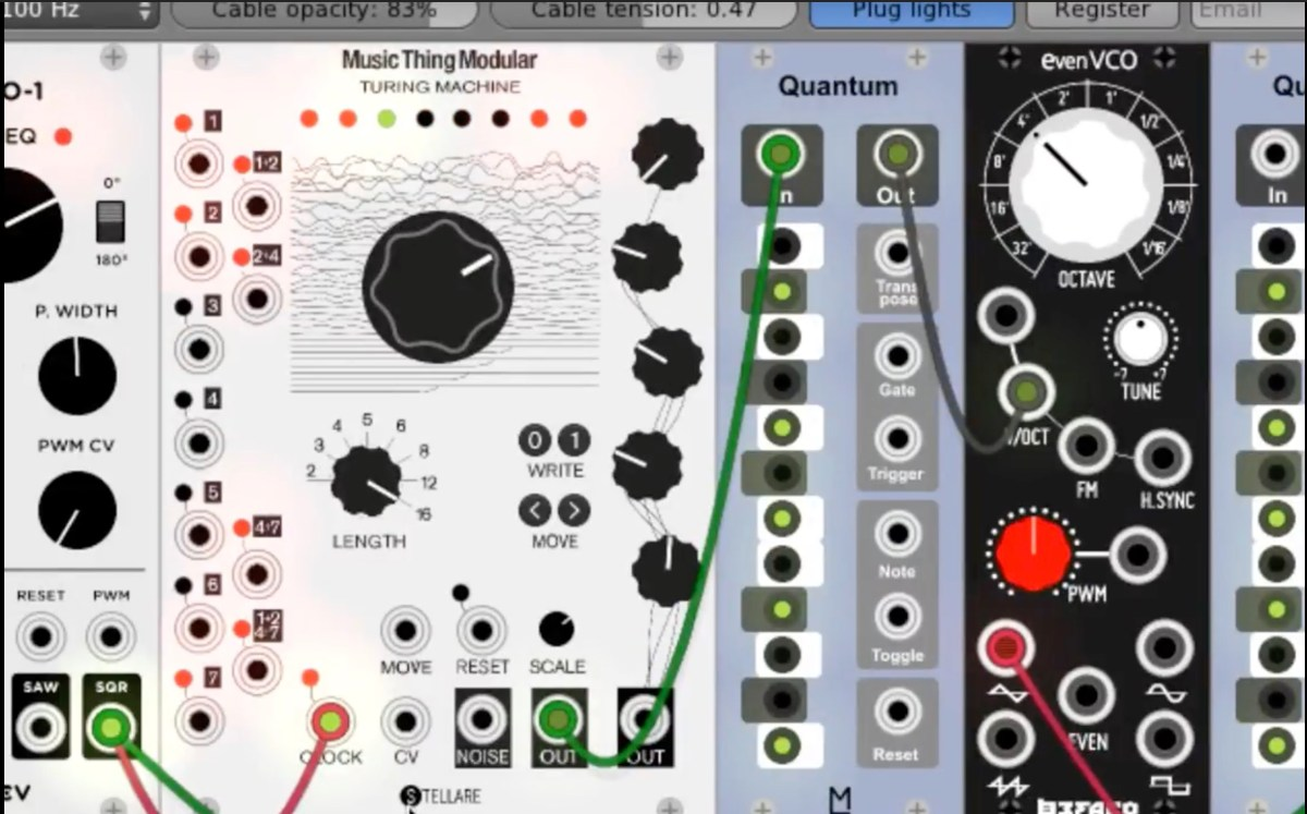 free vcv rack software modular synth gets ableton link turing machine modules synthtopia. Black Bedroom Furniture Sets. Home Design Ideas