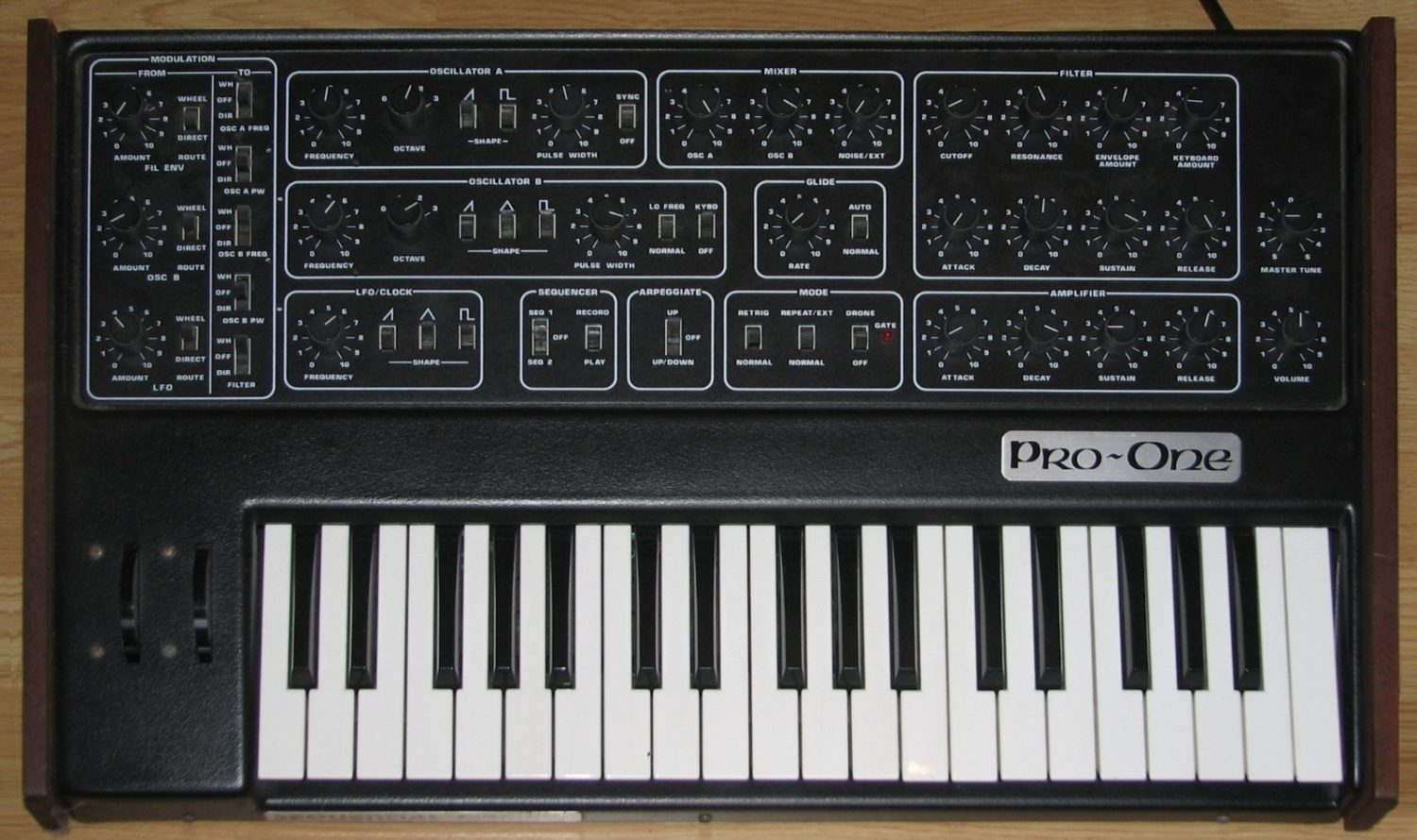 Is Behringer Cloning The Sequential Circuits Pro One Next Synthtopia Electronic Keyboard Circuit Compare Board Photo Above With Layout Of