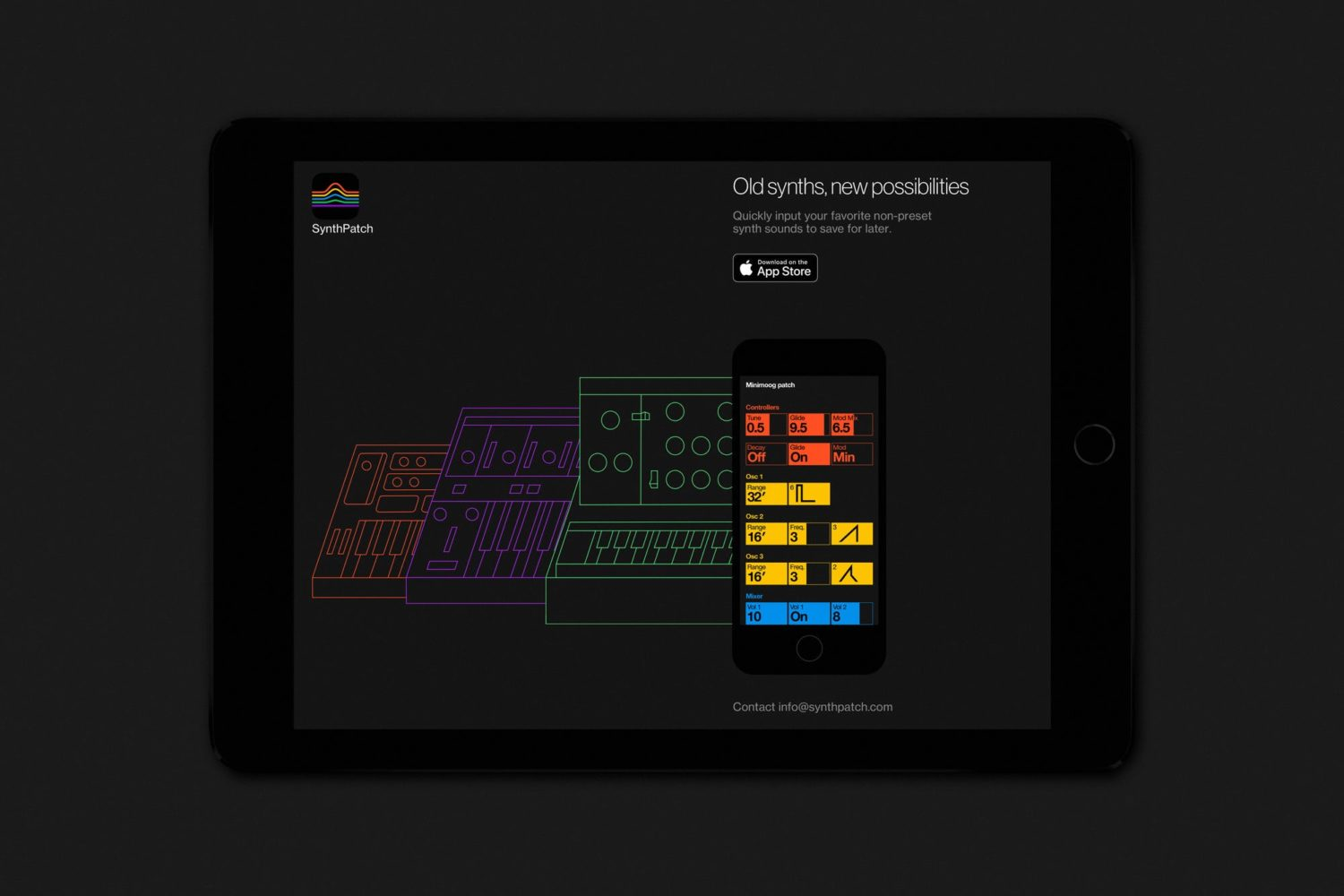 SynthPatch Lets You Organize Patch Sheets For The Minimoog, Pro-One