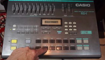 Making A Complete Track With A Vintage Casio SK-1 Sampling Keyboard
