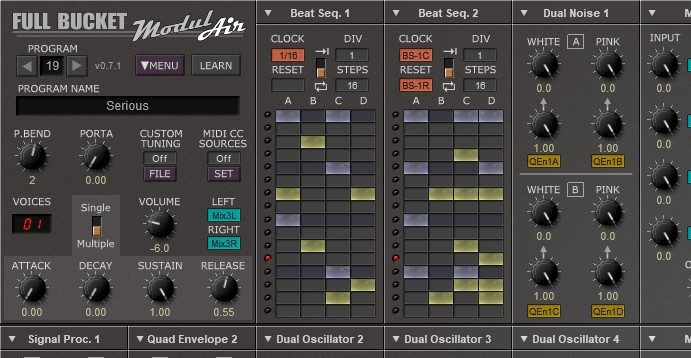 Free Software Modular Synthesizer, ModulAir, Offers Up To 64