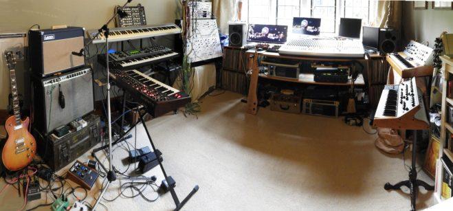 Dave Bessell studio panorama