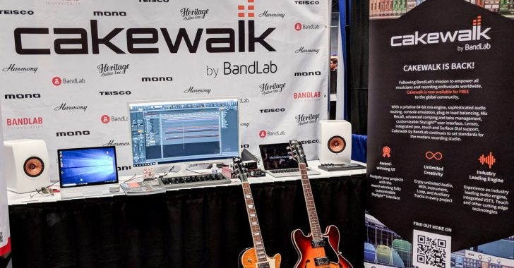 Updated Cakewalk DAW Debuts At AES | Synthtopia