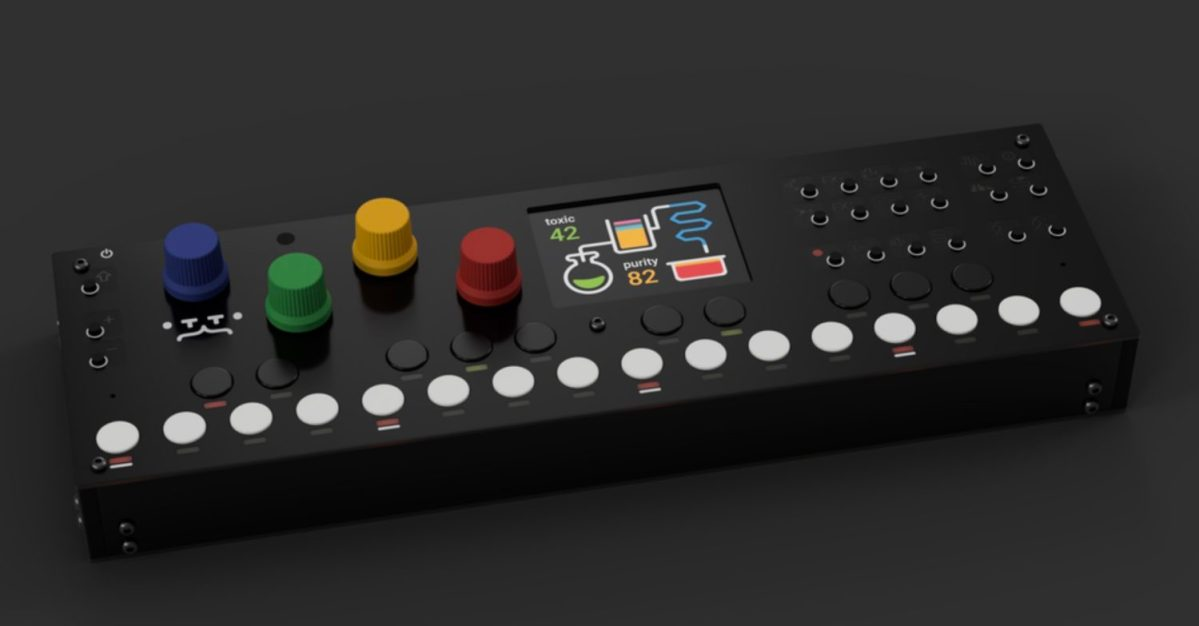 Otto Portable Groovebox Inspired By The OP-1 (Sneak Preview)