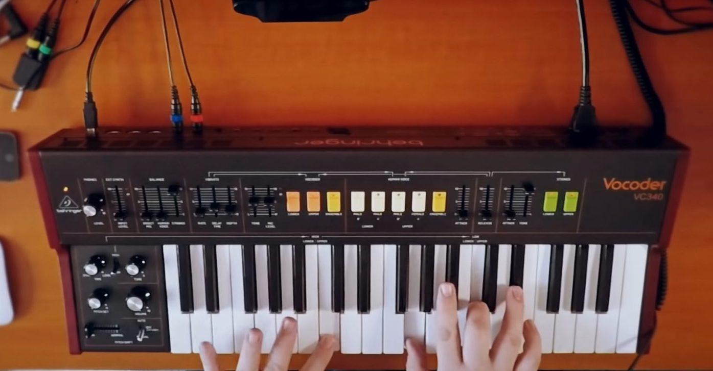 Behringer Vocoder VC340 Vocoder & Synthesizer Review