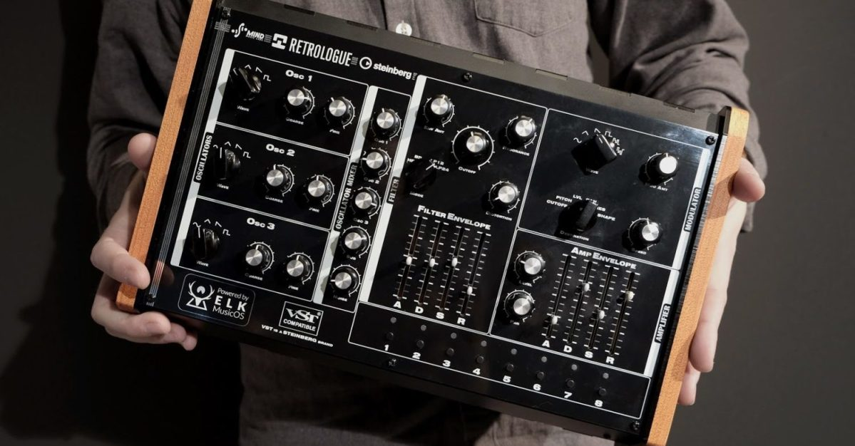 Steinberg Retrologue Synthesizer Sneak Preview At Superbooth 2019