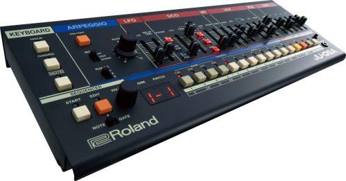 Roland-JU06A-for-rack-mount-angled