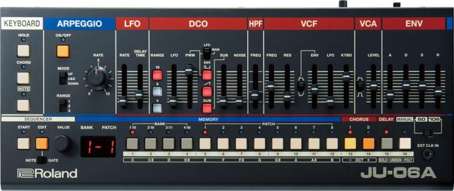 Roland-JU06A-top-view