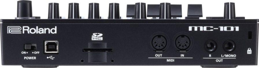 Roland-MC101-back-view