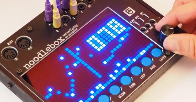 Noodlebox Serendipity Sequencer (Sneak Preview)
