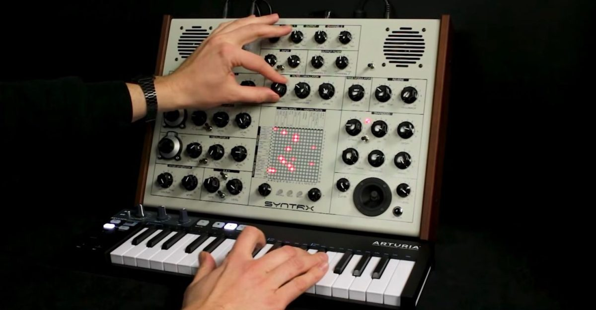 Erica Synths SYNTRX Does Things No Synthi Ever Could
