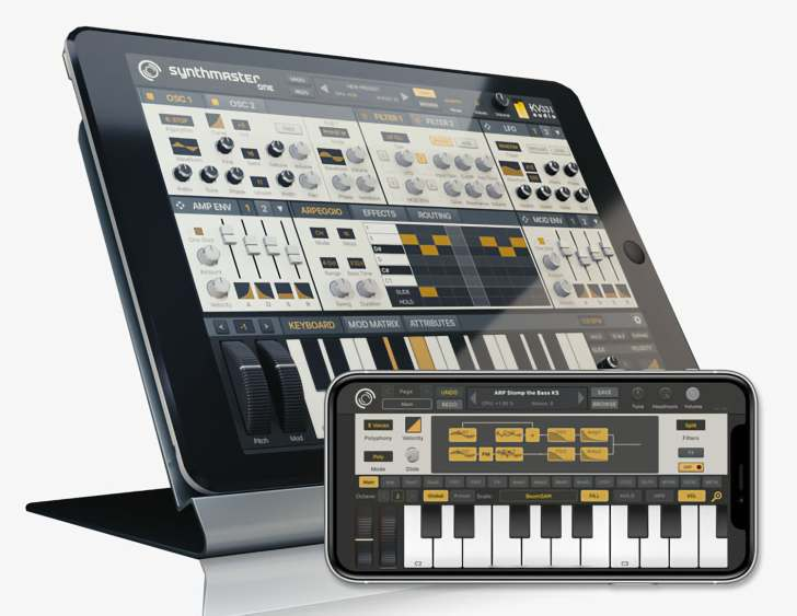 Free iOS Synthesizer, SynthMaster One