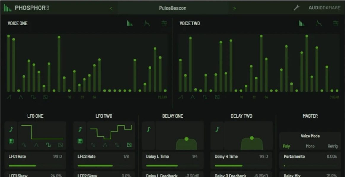 Audio Damage Intros Phosphor 3 Synthesizer With MPE, Microtonal Tuning More