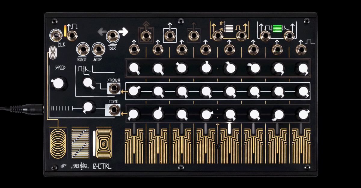 Make Noise 0-CTRL Offers Touch-Controlled Desktop Sequencing