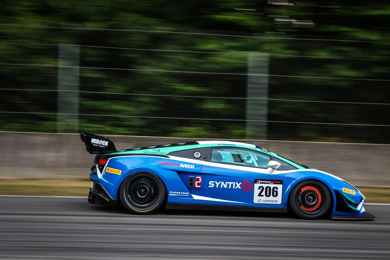 Syntix Lamborghini Gallardo FL2 GT3 side - Syntix Superprix Challenge