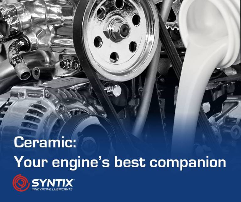 Ceramic additive - Engine Oil Additive - Engine improvement - Syntix Innovative Lubricants