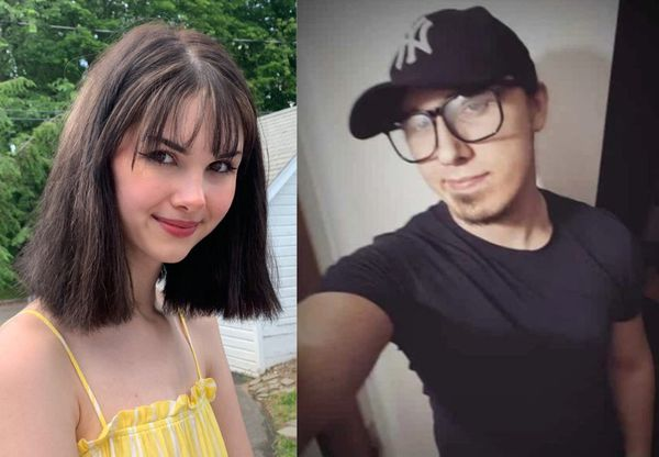 Bianca Devins, 17, of Utica; Brandon Andrew Clark, 21, of Cicero. Police say Clark killed Devins in Utica on Sunday, July 14, 2019. (Devins photo courtesy of Williams-Devins family; Clark's photo, social media).