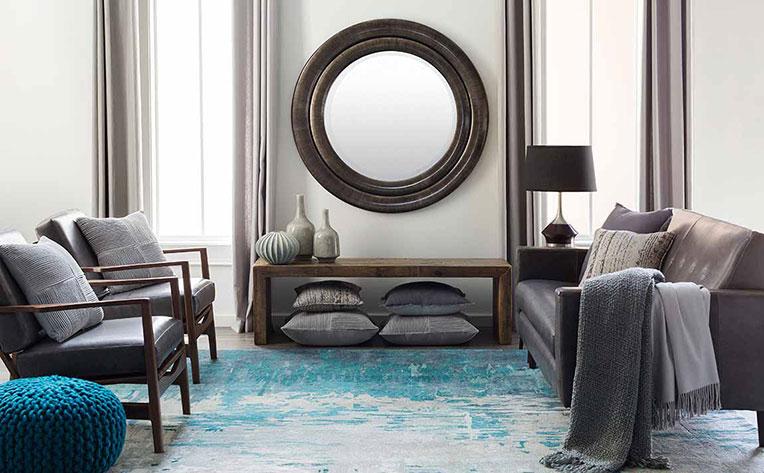 Blue Living Room Decorating Ideas Inspiration Flooring America