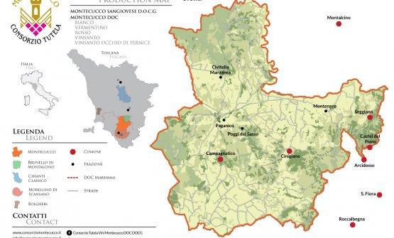 Montecucco Map