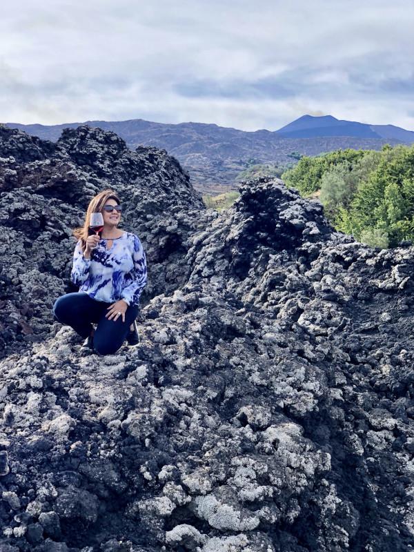 Visiting Mount Etna - Donnafugata Wines
