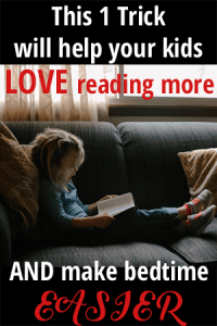 This Trick Will Help Your Kids LOVE Reading More and Make Bedtime EASIER!