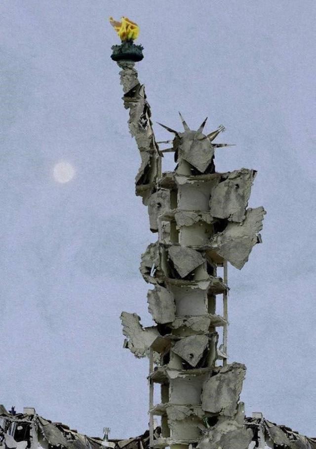 تمثال الحرية في حلب