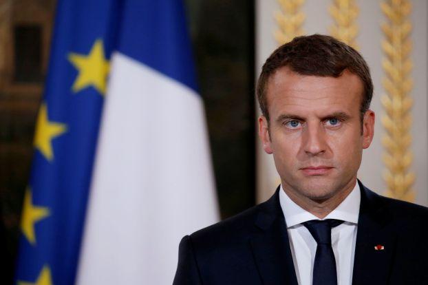 ماكرون: لا أرى بديلاً شرعياً من الأسد في سورية