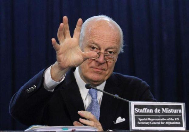 دي ميستورا يتوقع «تحولات نوعية» في سورية
