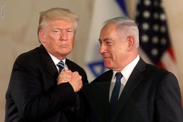 ترامب يوقع على الاعتراف بسيادة إسرائيل على الجولان