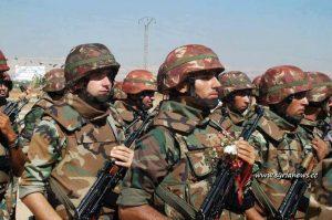 شامی عرب فوج