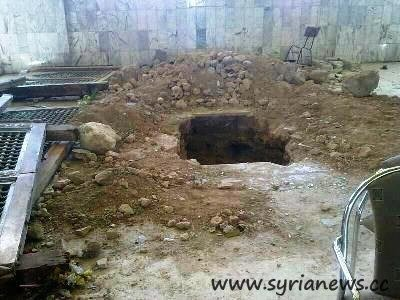 Hijir Bin Adi al-Kindi grave