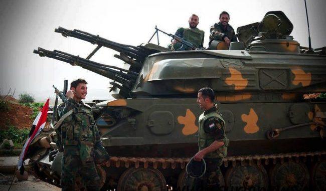 SAA Armored Vehicle