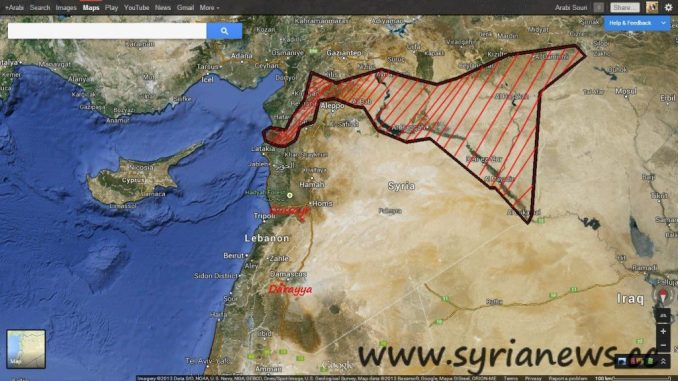 Syria Map May