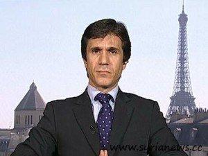 FSA Spokesperson from Paris Fahd Masri