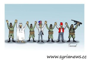 The group of evil against Syria