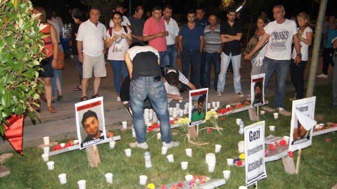 The Shrine of the Gezi Park Dead