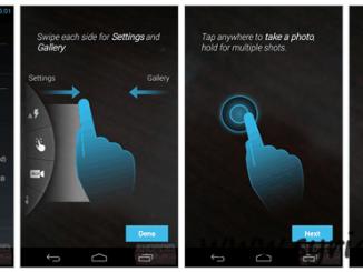 Motorola Moto X Camera App