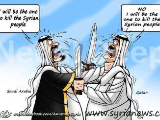 Qatar KSA Competing on Killing Syrians