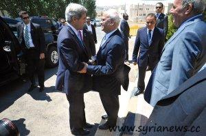 U.S. Secretary of Kerry meets the Palestinian chief negotiator Saeb Erekat / U.S. Department of State / public domain